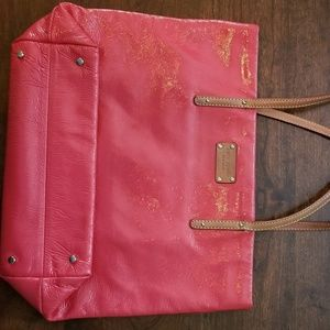 Kate Spade Cherry Red Tote Bag / Purse
